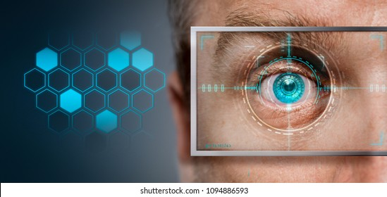 bionic eye  identity scanner