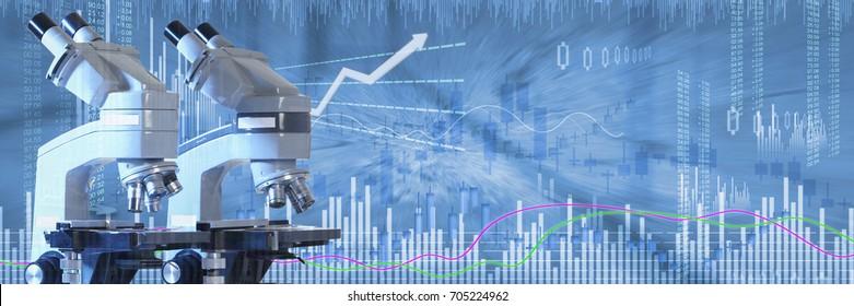 Biotech stock investing background