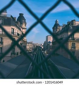 Bir Hakeim metro station in Paris