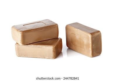 Birch coal tar soap