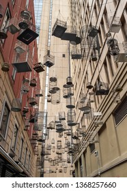 Bird Cage Alley in Sydney Australia