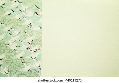 Bird pattern background and texture for card