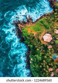 Bird's eye view in Mirissa Beach, Sri Lanka