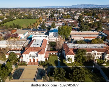 Birds eye view photo of Campbell in California