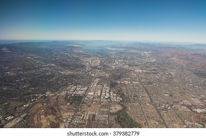 Bird's eye view of Silicon Valley
