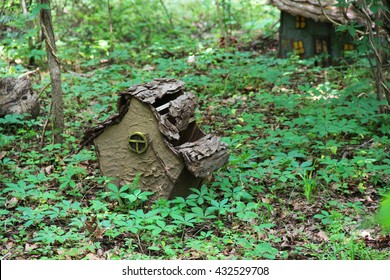 Birds Or Fairy House In The Forest