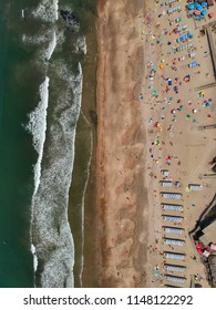 Birdseye view of Praia Suave Mar - Esposende, Portugal 2018