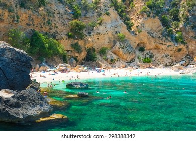 Biriola beach near Baunei, east coast of Sardinia, Italy
