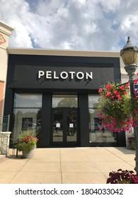 BIRMINGHAM, AL / USA - August 23, 2020: Peloton store at The Summit shopping center