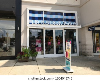 BIRMINGHAM, AL / USA - August 23, 2020: Bath & Body Works at The Summit shopping center
