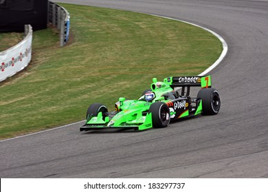 Birmingham Alabama USA - April 10, 2011: #7 Danica Patrick, United States Andretti Autosport,  Grand Prix of Alabama. Indycar Race