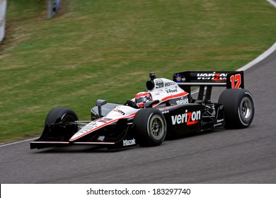 Birmingham Alabama USA - April 10, 2011: #12 Will Power, Australia Team Penske,  Grand Prix of Alabama.