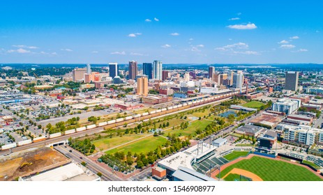 Birmingham, Alabama, USA Downtown Skyline Panorama.