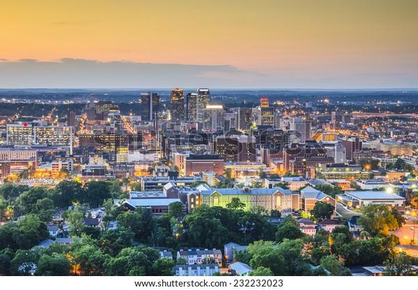 Birmingham, Alabama, USA downtown skyline.
