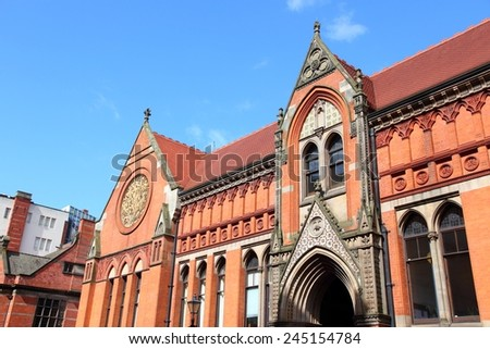 Birmingham City University, UK - Margaret Street campus.