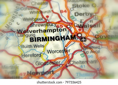 Birmingham, a city in the West Midlands of England, United Kingdom (UK).
