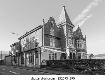 BIRMINGHAM, ENGLAND - SEPTEMBER 17, 2019: The Holte pub outside Villa Park in Birmingham, England