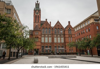 Birmingham, England, UK - 04.15.2021: Ikon Gallery,  an English gallery of contemporary art