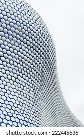 BIRMINGHAM, ENGLAND, UK - OCTOBER 01, 2014: The new Bull Ring shopping centre was designed by Future Systems architects for Selfridges, following an organic form inspired by the Fibonacci sequence