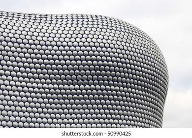 Birmingham - famous Selfridges building dotted facade. West Midlands, England.