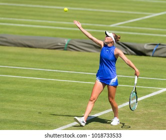 BIRMINGHAM, GREAT BRITAIN - JUNE 18 : Marketa Vondrousova the 2017 Aegon Classic WTA Premier tennis tournament
