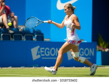 BIRMINGHAM, GREAT BRITAIN - JUNE 18 : Jana Fett the 2017 Aegon Classic WTA Premier tennis tournament