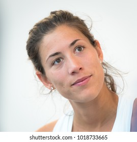 BIRMINGHAM, GREAT BRITAIN - JUNE 18 : Garbine Muguruza the 2017 Aegon Classic WTA Premier tennis tournament
