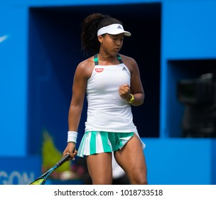 BIRMINGHAM, GREAT BRITAIN - JUNE 19 : Naomi Osaka the 2017 Aegon Classic WTA Premier tennis tournament