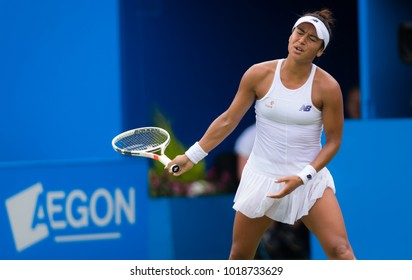 BIRMINGHAM, GREAT BRITAIN - JUNE 19 : Heather Watson the 2017 Aegon Classic WTA Premier tennis tournament