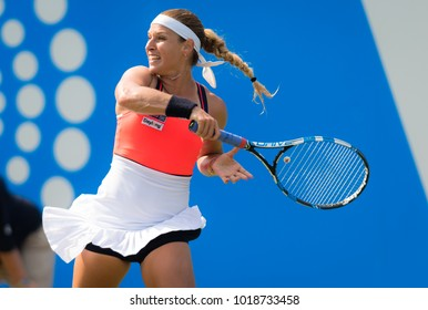 BIRMINGHAM, GREAT BRITAIN - JUNE 20 : Dominika Cibulkova the 2017 Aegon Classic WTA Premier tennis tournament