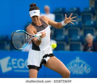 BIRMINGHAM, GREAT BRITAIN - JUNE 20 : Garbine Muguruza the 2017 Aegon Classic WTA Premier tennis tournament