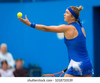 BIRMINGHAM, GREAT BRITAIN - JUNE 22 : Lucie Safarova the 2017 Aegon Classic WTA Premier tennis tournament