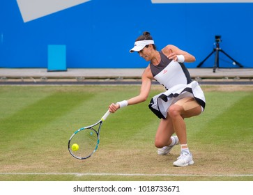 BIRMINGHAM, GREAT BRITAIN - JUNE 22 : Garbine Muguruza the 2017 Aegon Classic WTA Premier tennis tournament