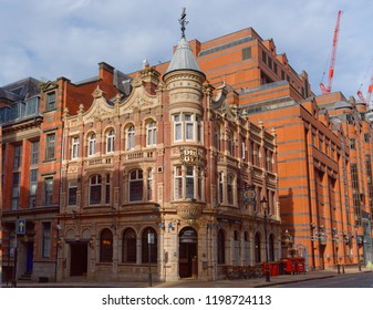Birmingham, October 07: It may be a landmark pub in Birmingham's business district, but The Old Royal is as well known for its great value as it is its grandeur. UK 2018
