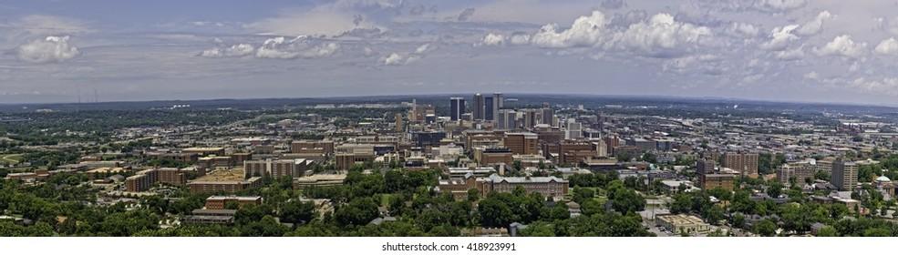 Birmingham Skyline in 2008