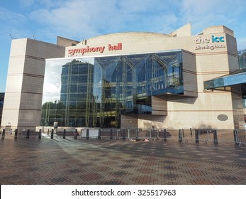 BIRMINGHAM, UK - SEPTEMBER 25, 2015: The new Symphony Hall