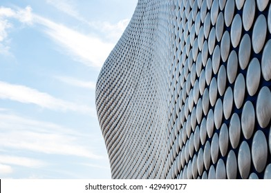 Birmingham, United Kingdom - JULY 30: The Bull Ring is a major commercial area of central Birmingham on July 30, 2011 in City of Birmingham, United Kingdom.
