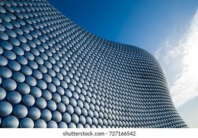 Birminghamm, UK - October 3rd, 2017: the Bullring Shopping Centre, Birmingham, England