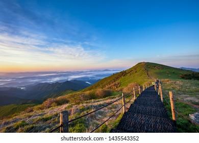 Biro Peak of Sobaek Mountain, National Park of Korea