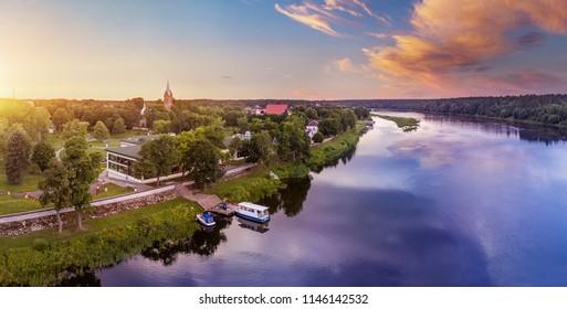 Birstonas is a resort town near Nemunas river in Lithuania.
