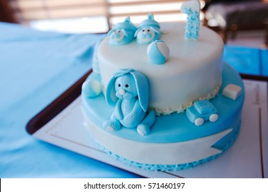 Birthday Cake For 1 Year Old Boy