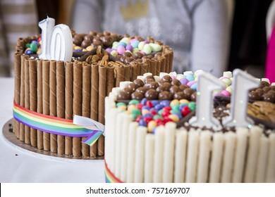 birthday cake 10 and 11