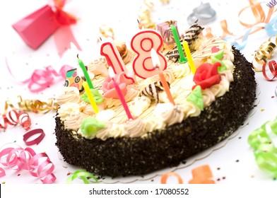 18 Years Birthday Images Stock Photos Vectors