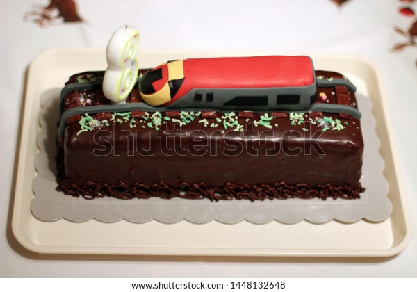 Miraculous Birthday Cake 8 Year Old Boy Stock Photo Edit Now 1448132648 Funny Birthday Cards Online Eattedamsfinfo