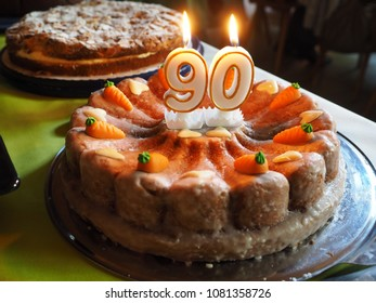 birthday cake for 90 years