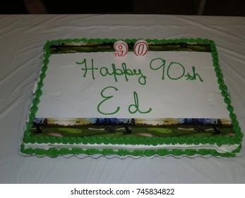 Birthday Cake 90 Years Old