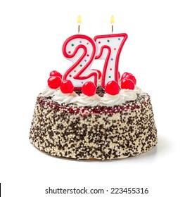 Terrific 27Th Birthday Images Stock Photos Vectors Shutterstock Funny Birthday Cards Online Alyptdamsfinfo