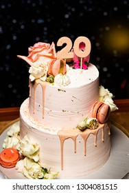 Amazing 20 Years Birthday Cake Images Stock Photos Vectors Shutterstock Personalised Birthday Cards Arneslily Jamesorg