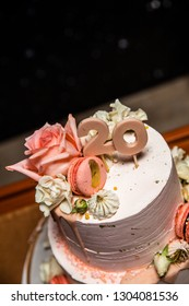 Birthday Cake Floral Wedding Or 20 Years And