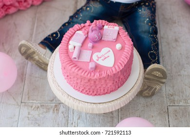 Birthday cake for girl